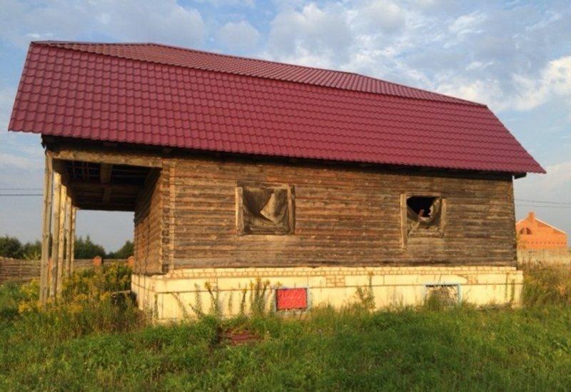 продается дом бревенчатый 150 кв.м, недострой . двухэтажный , в черте города,- малые ...