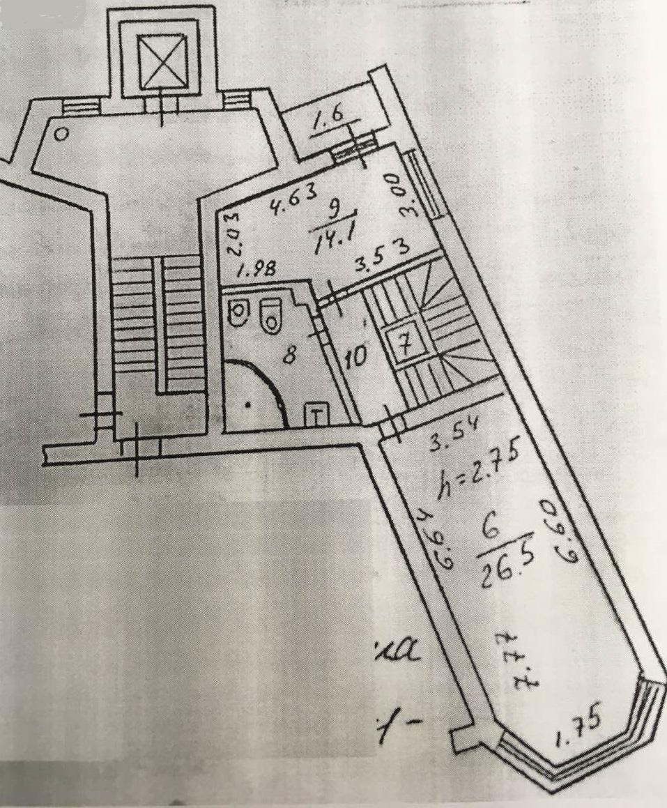 Трехкомнатная квартира - ул. Западная, д. 9а