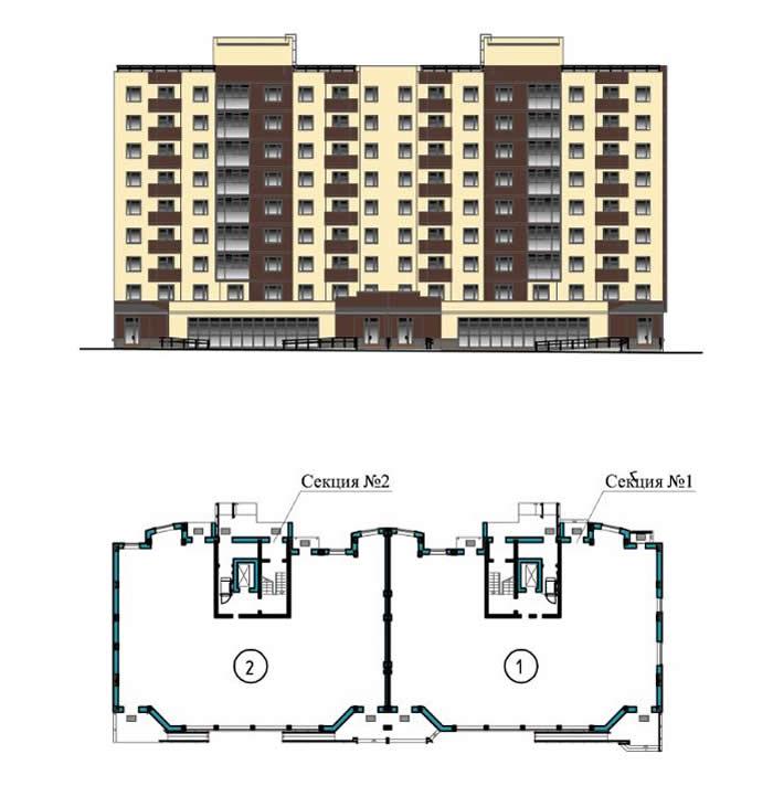 Однокомнатная квартира - ул. Балтийская, д. 1, кв. 9,12,24,29,37,39