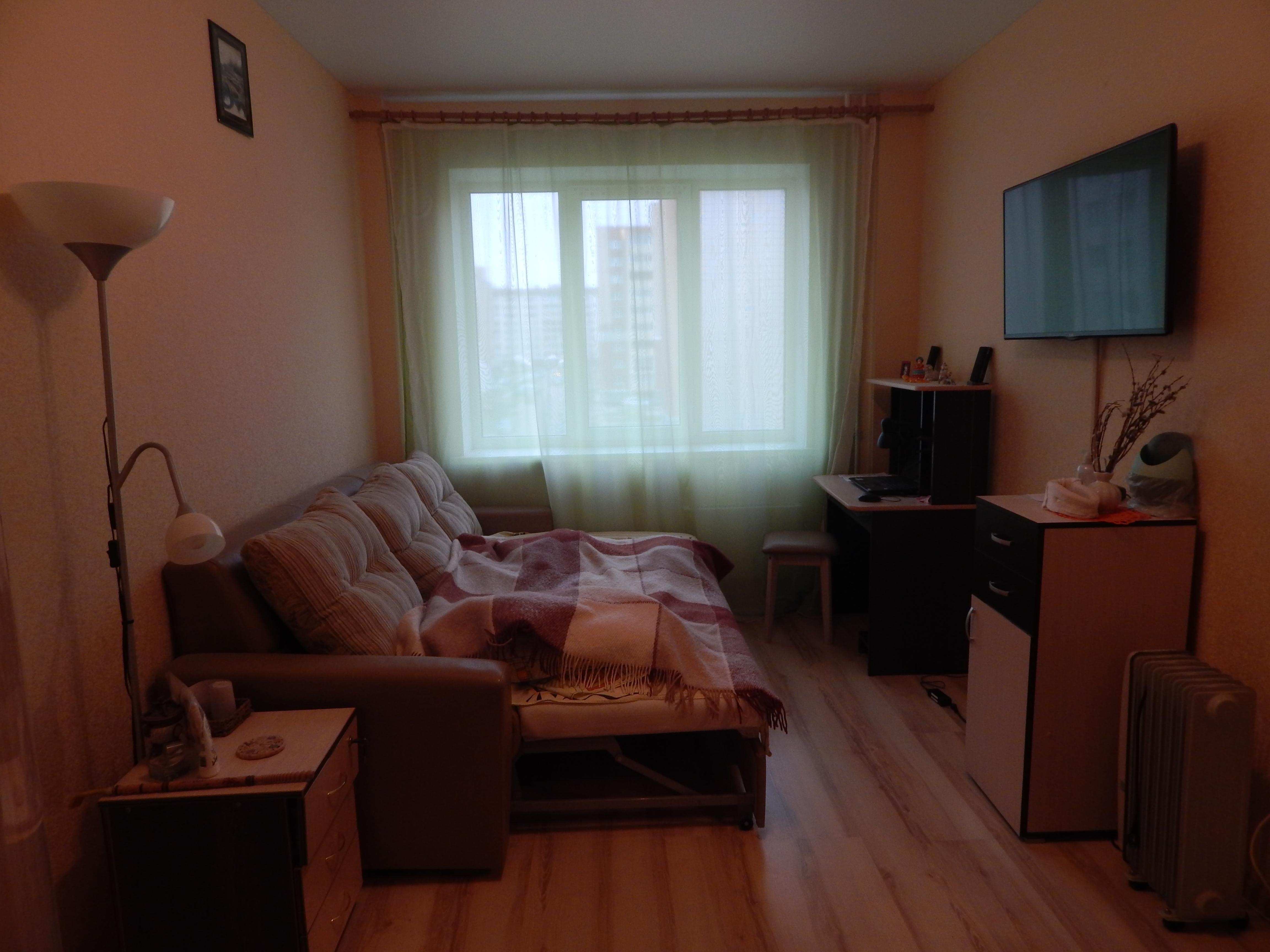 Однокомнатная квартира - ул.Балтийская, д. 10