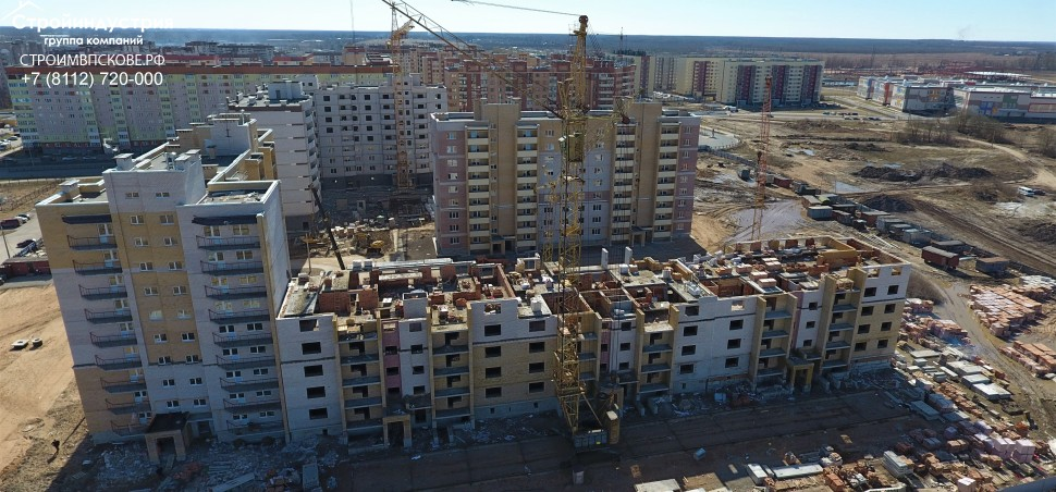 Двухкомнатная квартира, ул. Балтийская, 16, кв.52,76,80