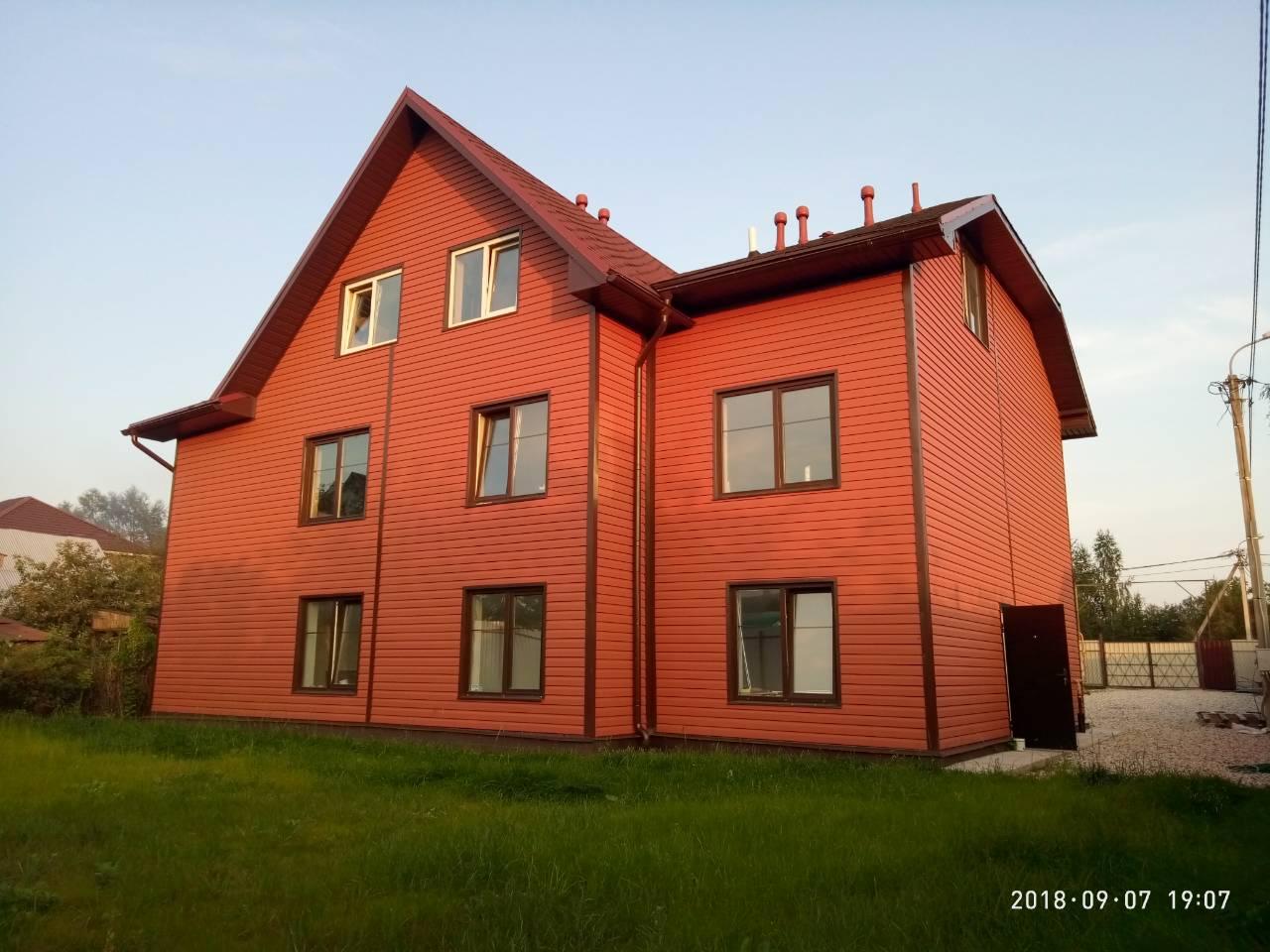 Коттедж в 413 кв.м. в г. Пскове