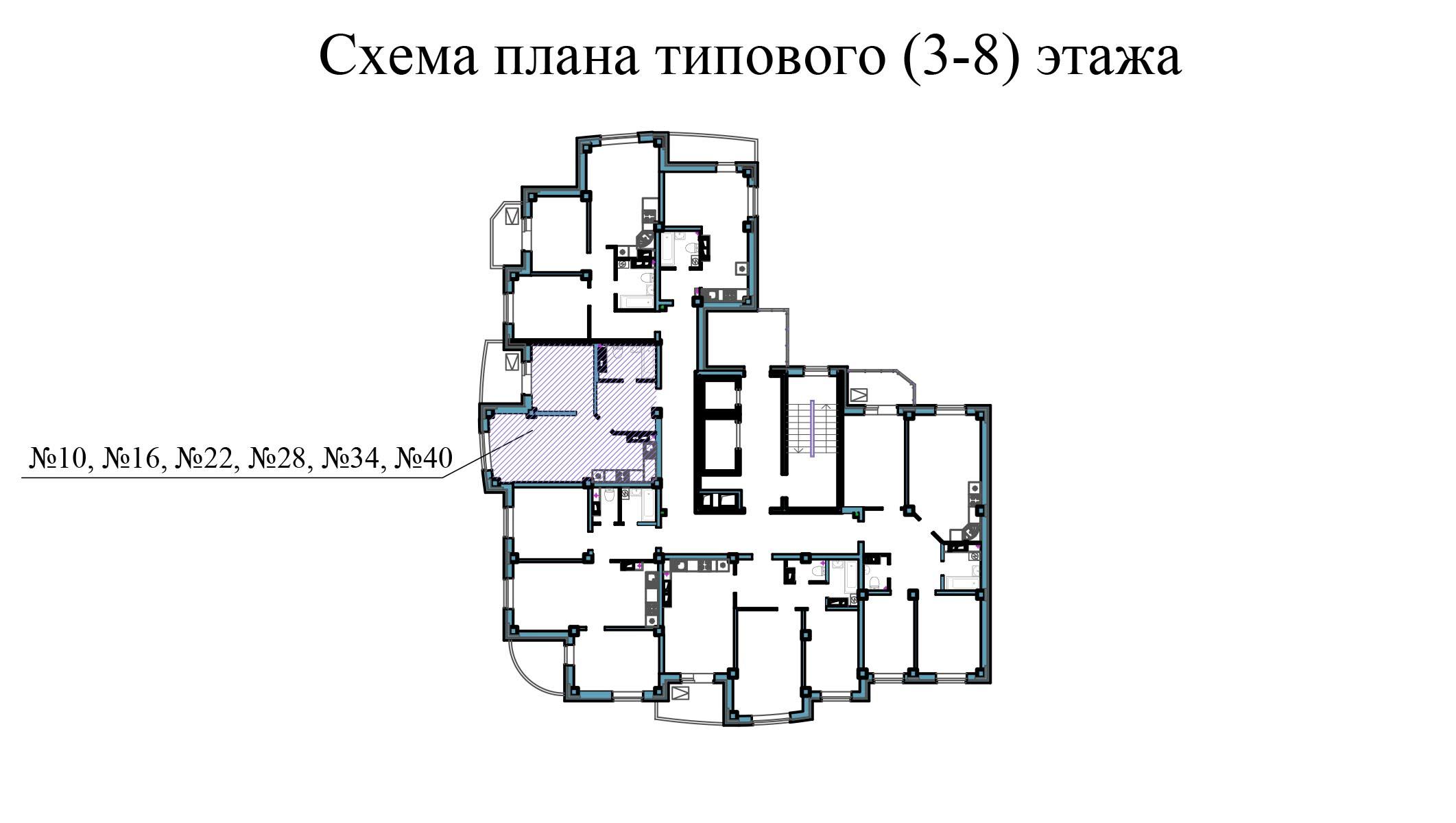Однокомнатная квартира - ул.Балтийская, д. 1а, кв. 34