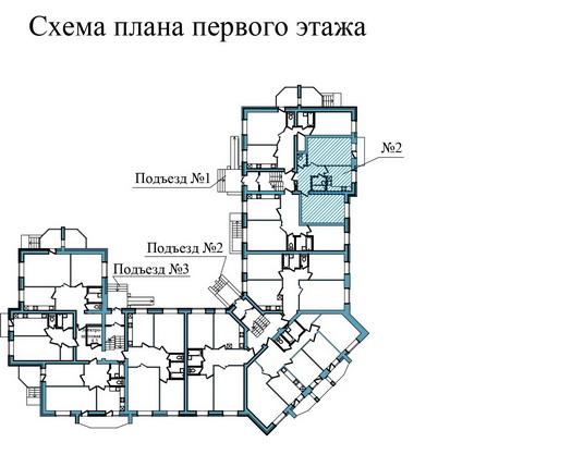 Двухкомнатная квартира- ул.Завеличенская, д. 6, кв. 2