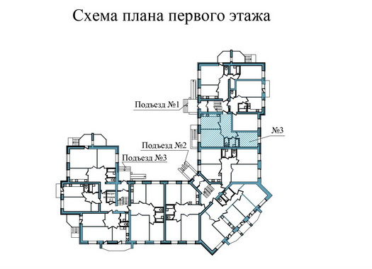 Двухкомнатная квартира- ул. Завеличенская, д. 6, кв. 3