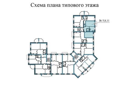 Двухкомнатная квартира - ул.Завеличенская, д. 6, кв. 5, 8,11